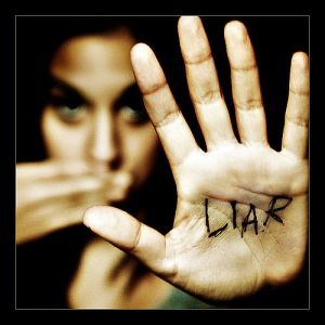 Knowing that you are a great liar