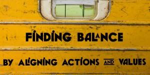 Values-Balance