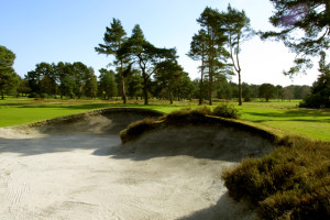 Ferndown GC Dorset, UK - 5th hole