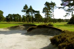Ferndown GC Dorset, UK - 5th hole